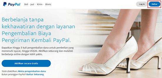 Cara Membuat Paypal Tanpa Kartu Kredit – Terbaru 2020!