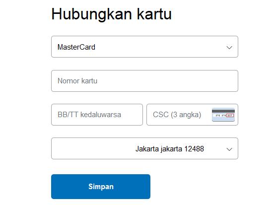 Cara Verifikasi Paypal dengan VCC, Solusi yang tidak punya kartu kredit