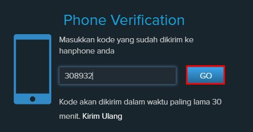 verifikasi no telp 2