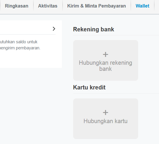 wallet paypal