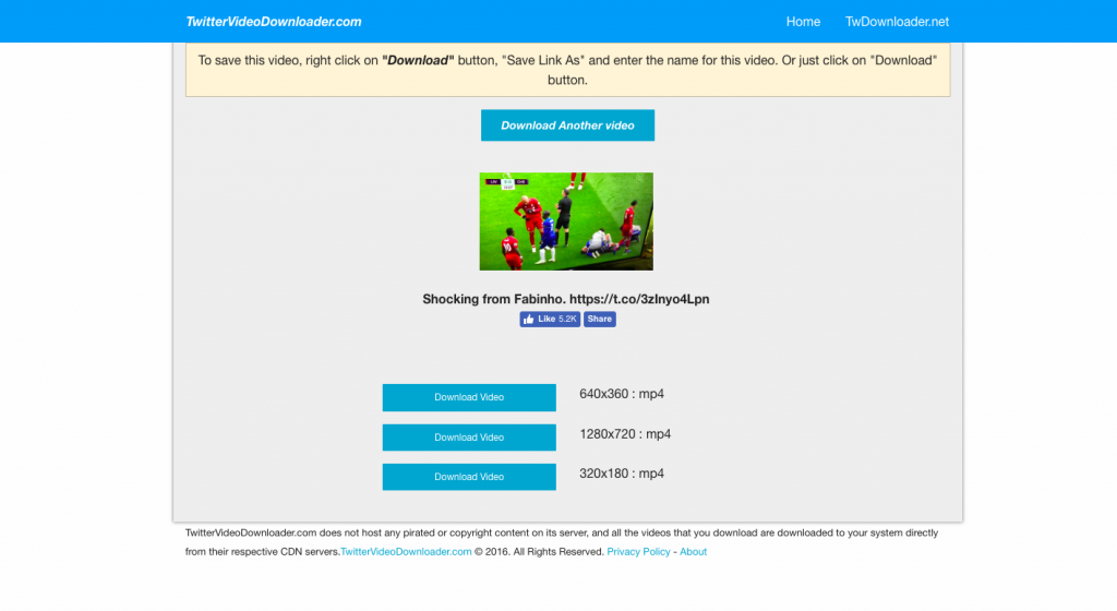 cara download video di twitter Twittervideodownloader