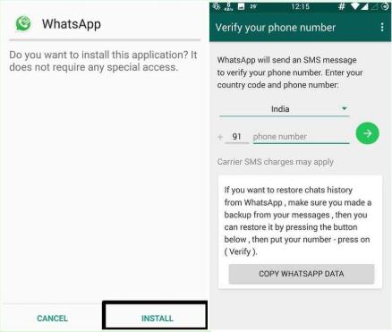 install gbwhatsapp