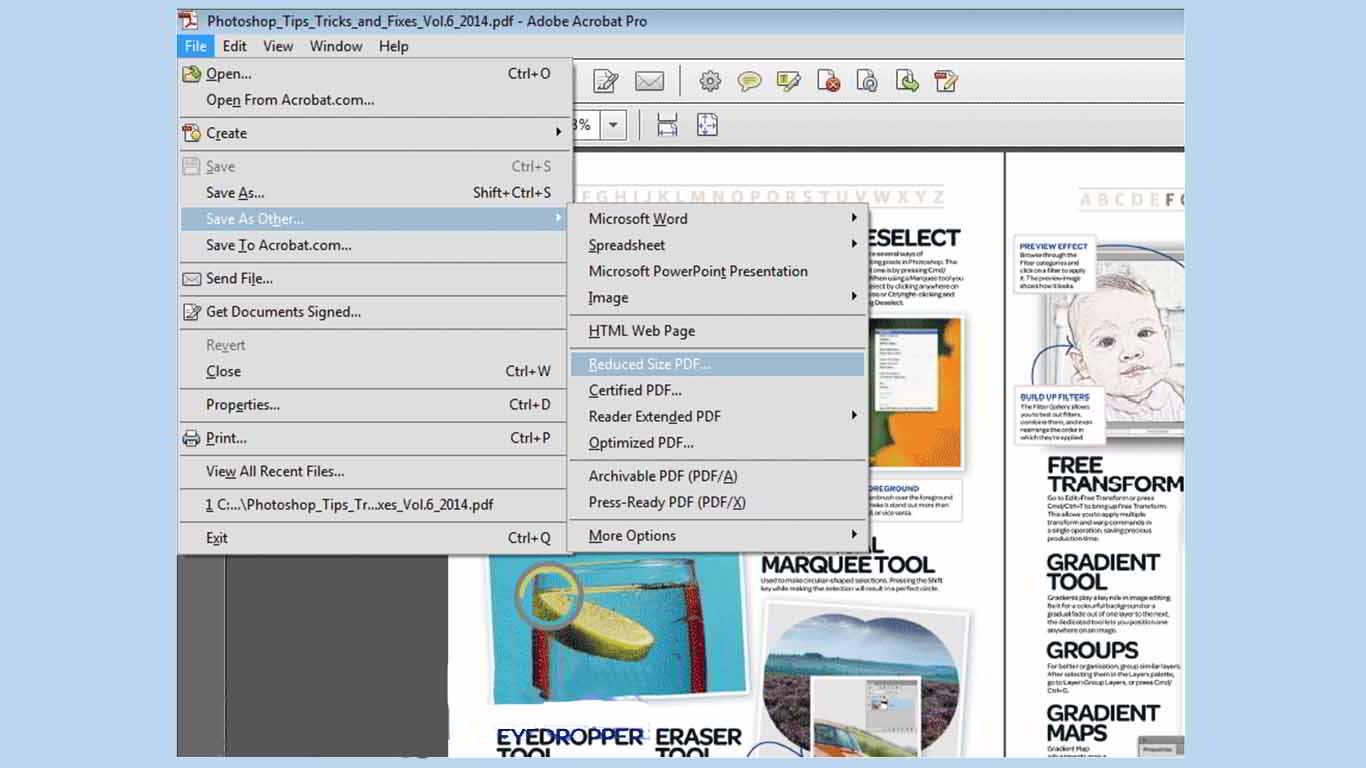 cara-memperkecil-ukuran-file-pdf-dengan-adobe-reader-xi 2